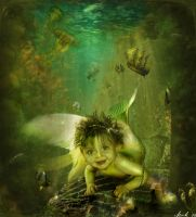 Little Siren by Toefje-Kunst