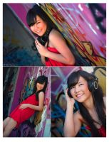 The Girl in Red by minlie