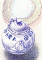 Teapot Study by Wolf-Daughter