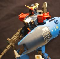 Blue Destiny-Gundam Head Unit by animeartist2007