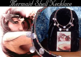 Mermaid Shell Necklace by X-Enigma-X