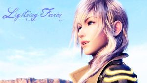 Lightning Farron Smiles by Selenaru96