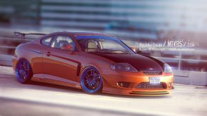 Hyundai Coupe quick chop by MTK85