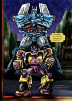 Transformers Swindle Ultra Magnus IDW MTMTE RiD by WolfWhiskers