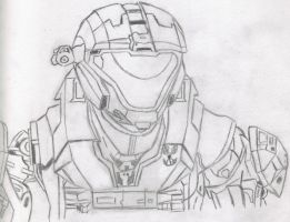 Halo: Reach - Catherine-B320 W.I.P by Takeshi-Toga