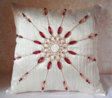 Pillow_8_Raspberry sun by O-l-i-v-i