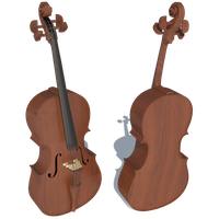 Violoncello - Mapped by iemersonrosa