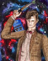 The 11th Doctor by AquaStorm4