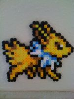 Jolteon Perler by SpringDasie