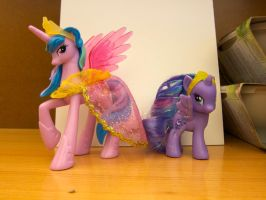 Princess sisters by purpletinker