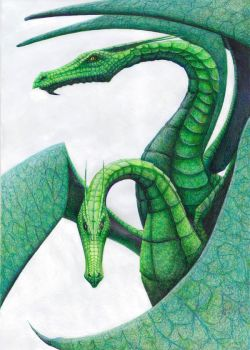 greendragons by MaltePawelek