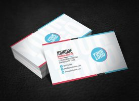 Clean Funky Business Card by glenngoh