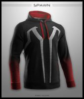 Spawn Hoodie by seventhirtytwo