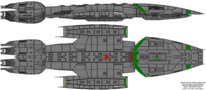 Battlestar Vindication retcon by United-Systems-Navy