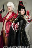 Dante and Bayonetta by Zihark-cosplay