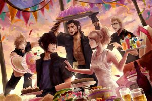 Unbreakable Bonds FFXV by ElinTan