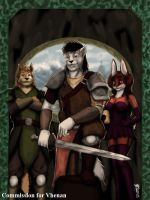 COM : Vhenan and friends by whiteguardian