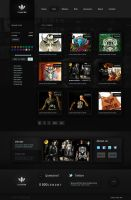 Dark Shop Template by AlexanderFriedl