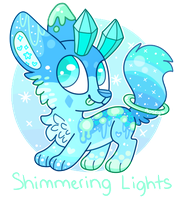 Shimmering Lights Gummaxy .:AUCTION:. (closed) by RoseyWingedCat