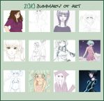 2010 Art Summary by XxSleepyKittenxX