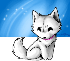 White .:Animated:. 2010 by WhiteSpiritWolf