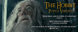 The Hobbit - Purist Version (Teaser 1) by yourparodies