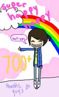700 pageviews :D by dinacorn