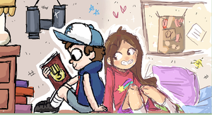 iscribble twins by pumpkinuffin