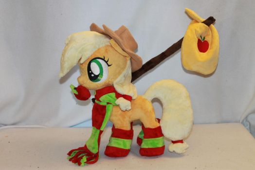 Filly Applejack by KarasuNezumi