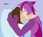 Kiss From An Angel by cheshire-cat-tamer