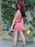 Kairi has a Keyblade too by DolphinGodess