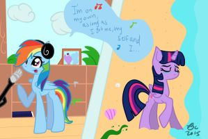 My Little Teen Beach Movie 2 : On my Own by BronyCooper