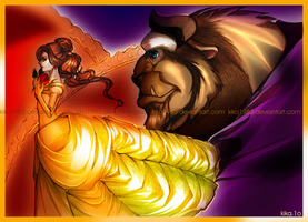 Beauty and the Beast by kika1983