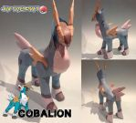 Cobalion papercraft download by javierini