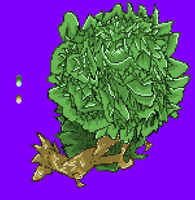 Tree Pixel Art by NSMBXomega