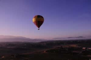Balloon at Sunrise by AndySerrano