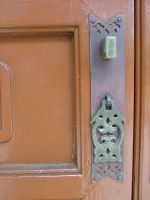 Chinese Door Knocker by oakstock