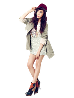SNSD Tiffany png by sarielk