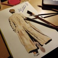 Allons-y David Tennant ~ Doctor Who by jaenartist