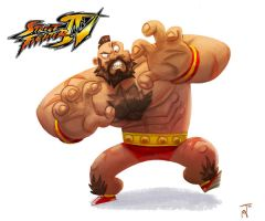 Zangief by jesseaclin