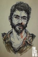 The Last of Us - Joel Doodle by Kumagorochan