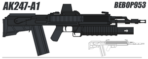 AK47 Concept Updated Again by BeBop953