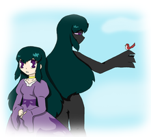 the Ender woman (mc parody of the little mermaid) by Chaos55t