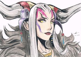Ultimecia - Dissidia by Chocolate-Luver