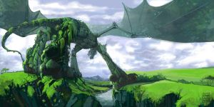 green dragon by zersen