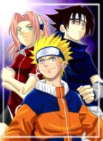Naruto to Gye by lince
