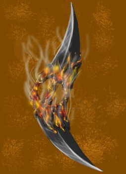 blades of fire by spanishartist