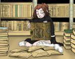 The Remnant: Bookworm by remnantcomic