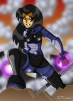 Blackfire Battle by XJKenny