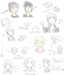 TDN MKR Doodles by Thiefy-Lives